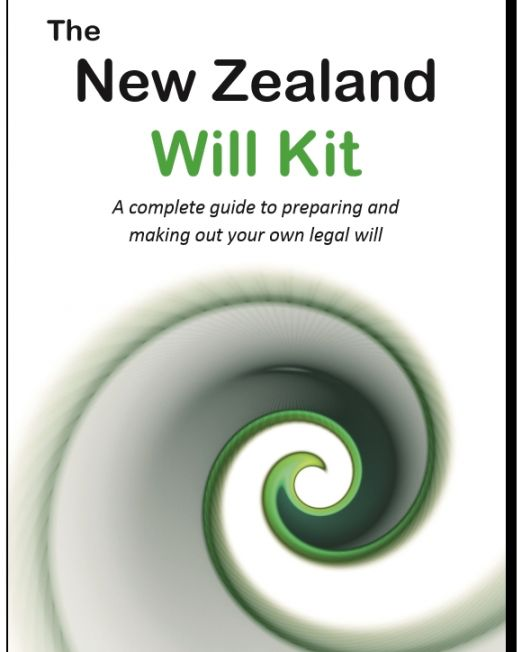 NZ Will Kit cover