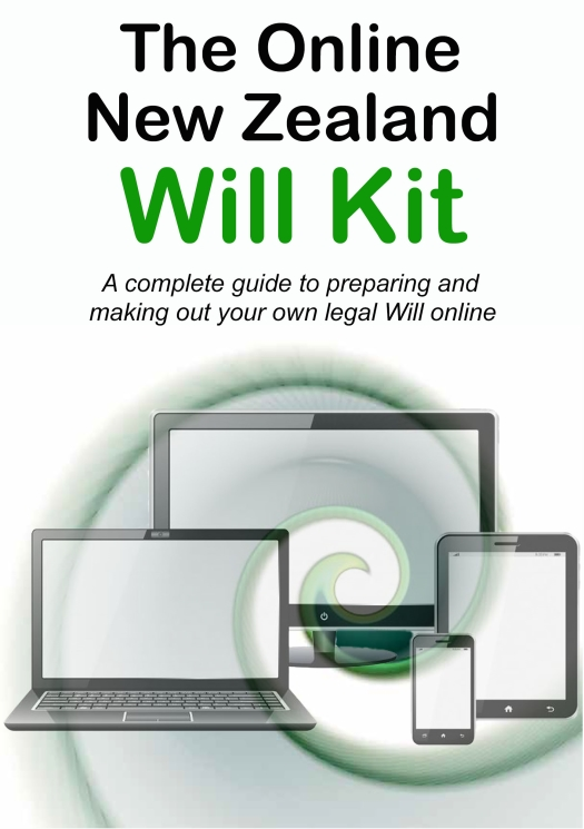 Online New Zealand Will Kit cover image